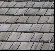 A roof after being cleaned with CedarGuard