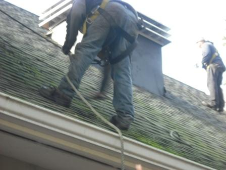 Safely Walking Roof