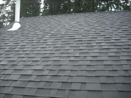 A nicely cleaned roof 