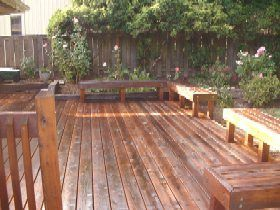 After Deck Cleaning