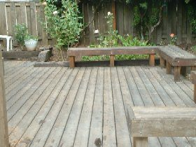 Before Deck Cleaning