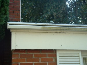 gutter exterior side by side