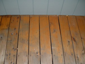 Deck In Need Of Refinishing