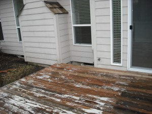 Painted deck - virtually impossible to completely strip