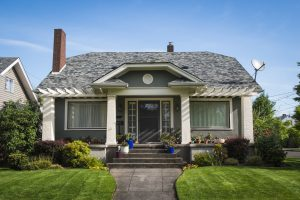 Roof Maintenance on a Craftsman Style House in Portland Oregon
