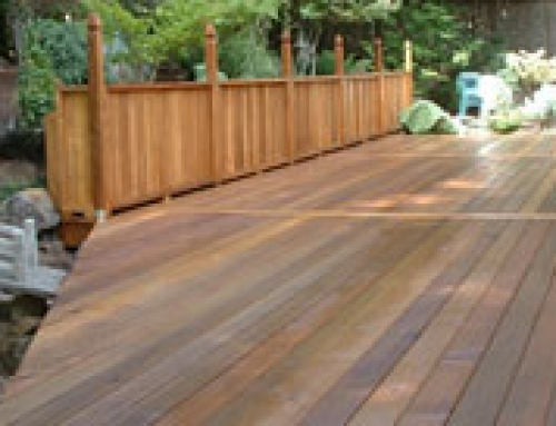 I want to refinish my deck who do I call?